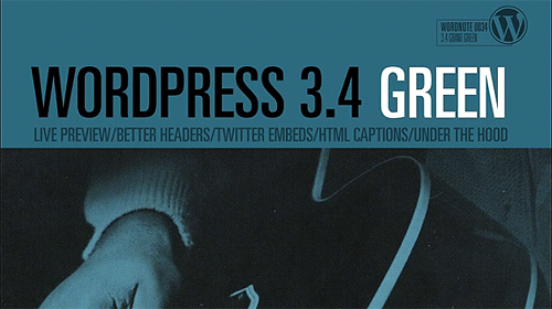 WordPress 3.4 GREEN