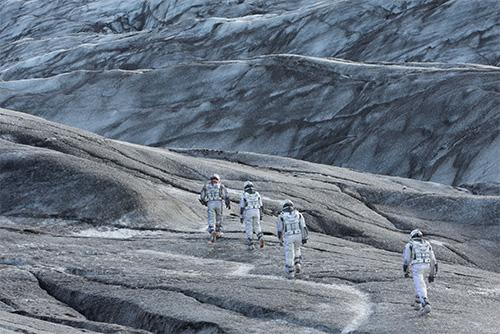 マン博士の氷の惑星 - インターステラー
